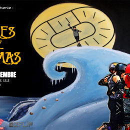 « The 4 games before Christmas » des Lille Roller Girls