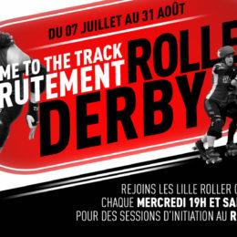 Recrutement estival 2018 : essaie gratuitement le roller derby cet été !