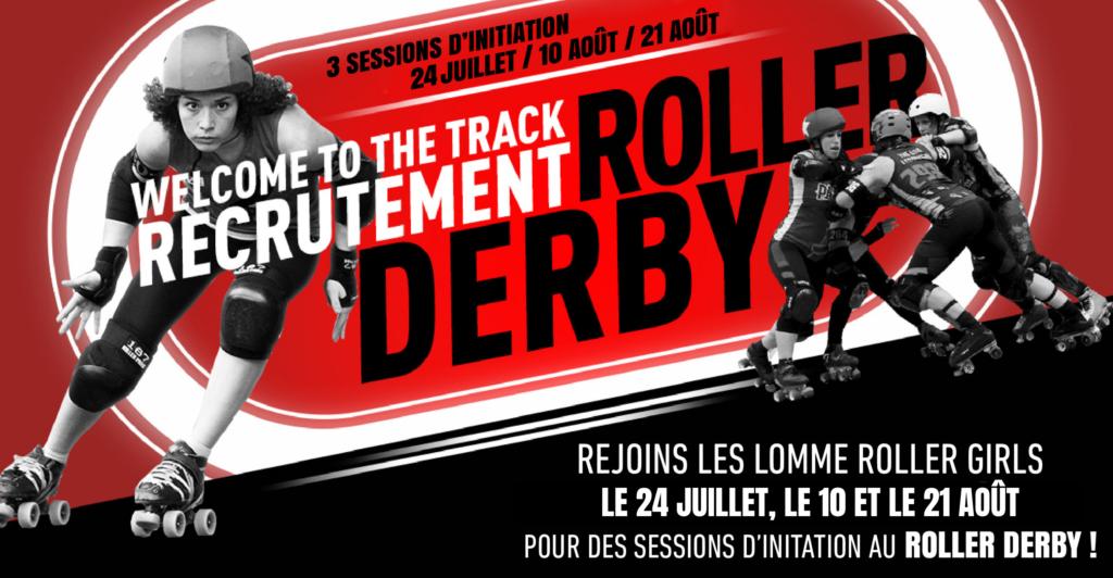 Welcome To The Track - Recrutement de Roller Derby à Lille et Lomme par les Lomme Roller Girls