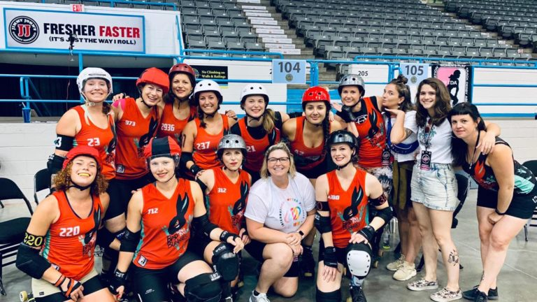 Les Bad Bunnies aux international WFTDA playoffs 2019 à Winston-Salem : retour sur cette expérience hors du commun