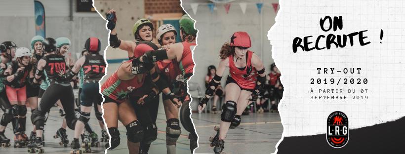 Recrutement de Roller Derby à Lille et dans la métropole par les Lomme Roller Girls