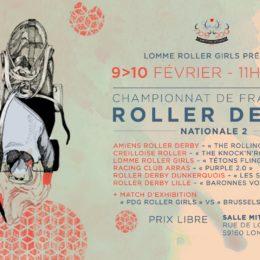 Championnat de France Nationale 2 à Lomme !