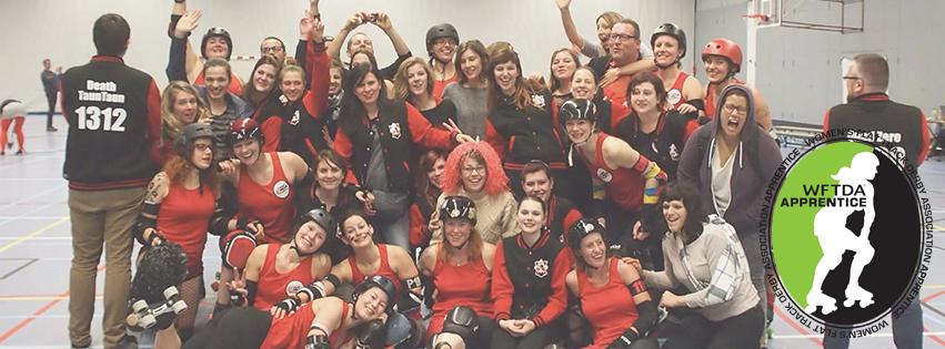 Les Lille Roller Girls sont maintenant WFTDA apprentice members !