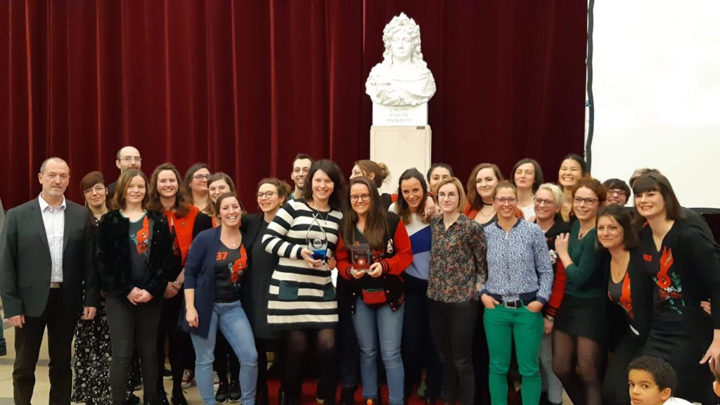 ville de Lomme : Les Lomme Roller Girls obtient le trophée de la meilleure association sportive 2019